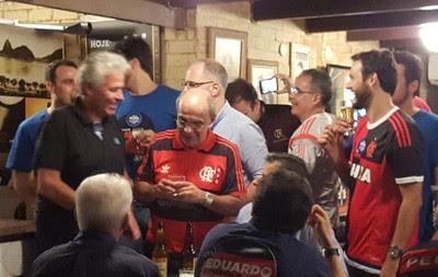 Eduardo Bandeira de Mello Flamengo (Foto: Janir Júnior / GloboEsporte.com)