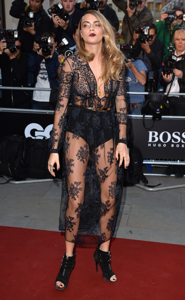 Cara Delevingne - Arrivals at the GQ Men of the Year Awards