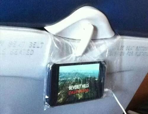 In-flight entertainment system.