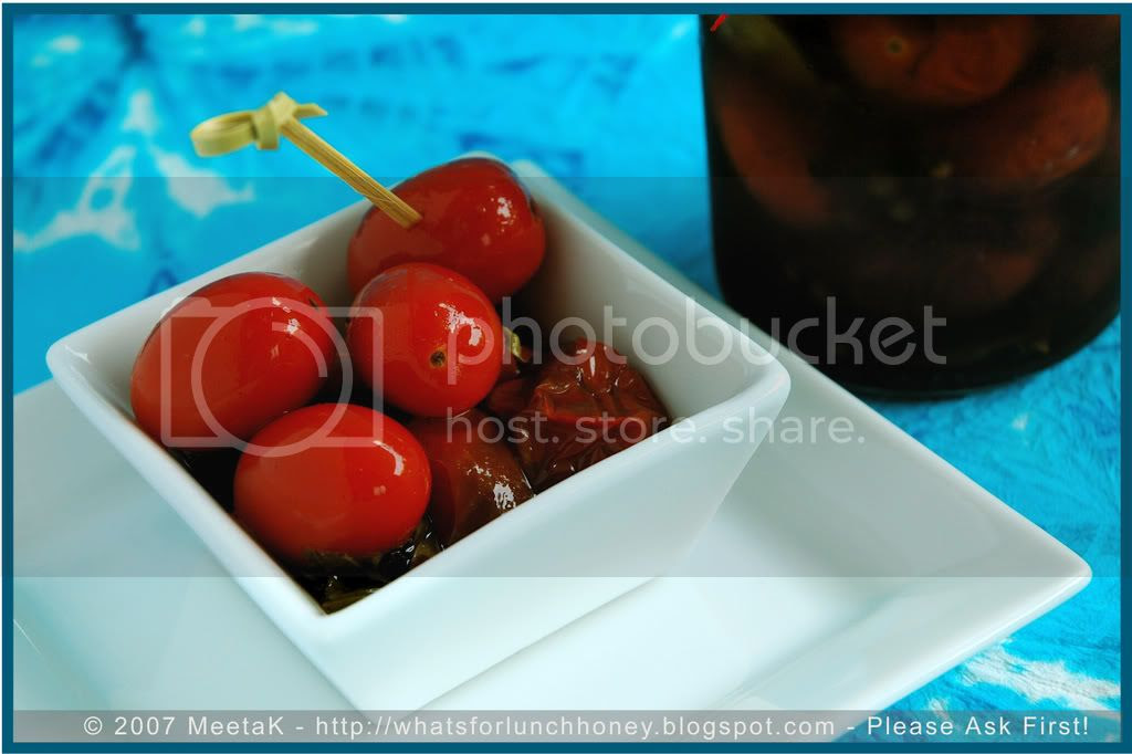 Tomatoes in Agrodolce (04) by MeetaK