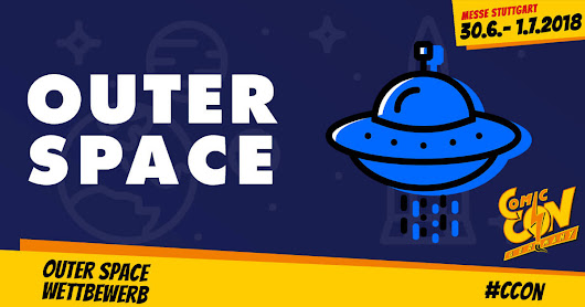 OUTER SPACE Challenge - CCON | COMIC CON GERMANY