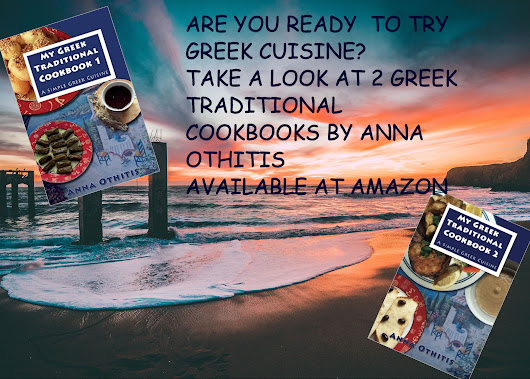2 GREEK TRADITIONAL COOKBOOKS BY ANNA OTHITIS