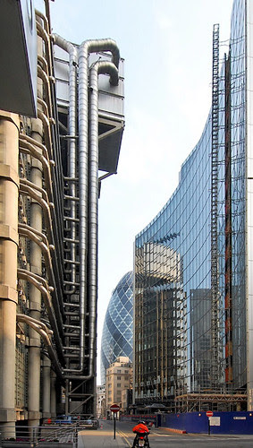 gherkin and lloyds upright correction