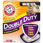 Arm & Hammer Clumping Litter, Advanced Odor Control, Double Duty, Value Size - 23.3 lb
