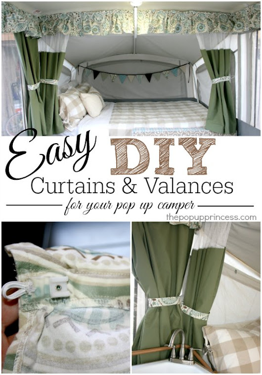 How to Make Your Own Pop Up Camper Curtains