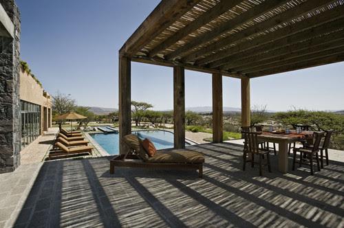 Mexico House mediterranean patio