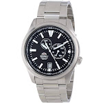 "Orient Men's FET0N001B0 ""Defender"" Stainless Steel Automatic Watch"