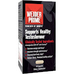 Weider Testosterone Support Dietary Supplement Capsules - 60ct, Men's