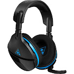 Turtle Beach Stealth 600 Wireless Over-Ear Headset for PS4 Pro and PS4 - Black