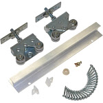 Johnson Hardware 200721DR Pocket Door Hardware Set 36in