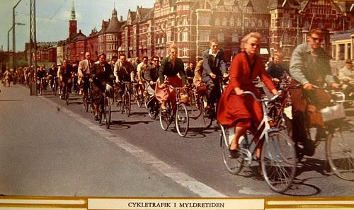 Copenhagen Bicycle Traffic in Rush Hour