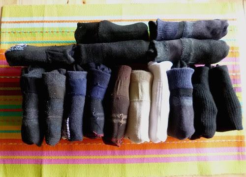 organised socks by adline✿makes