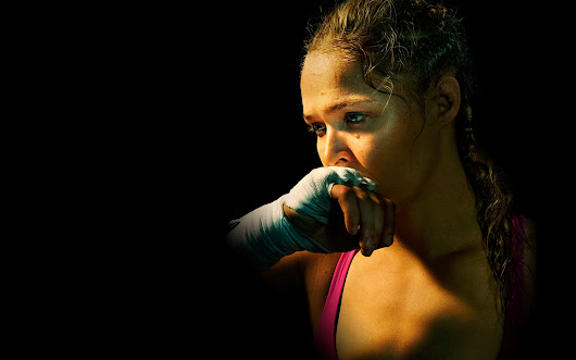 Rousey says she's down but not out