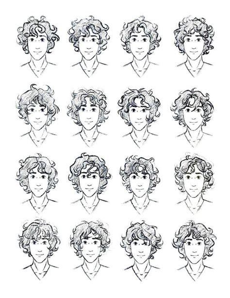 draw curly hair male szukaj  google curly hair