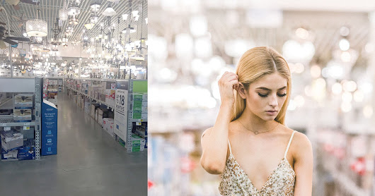 Ugly Places, Pretty Portraits: I Did a Photo Shoot in Lowe's
