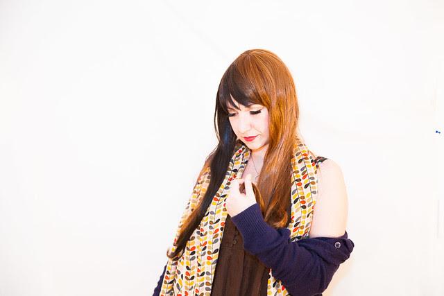 Orla Kiely scarf