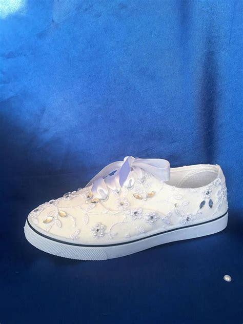 wedding tennis shoes ideas  pinterest sparkle