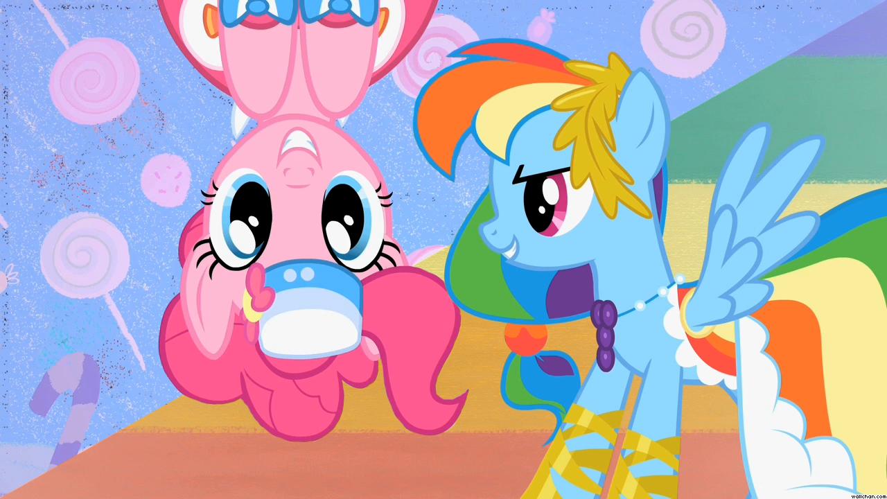 1307231200 My Little Pony Rainbow Dash Pinky Pie Wallpaper Png