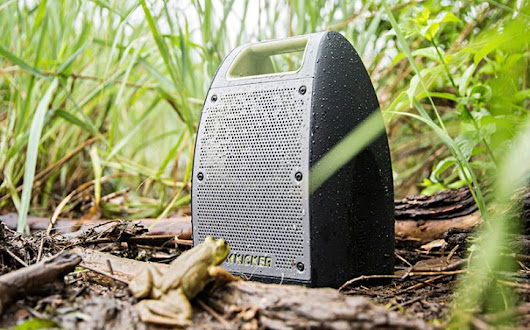 Kicker Launches Bullfrog Jump, a Beefed Up Bluetooth Speaker Ready to Get Wet and Wild