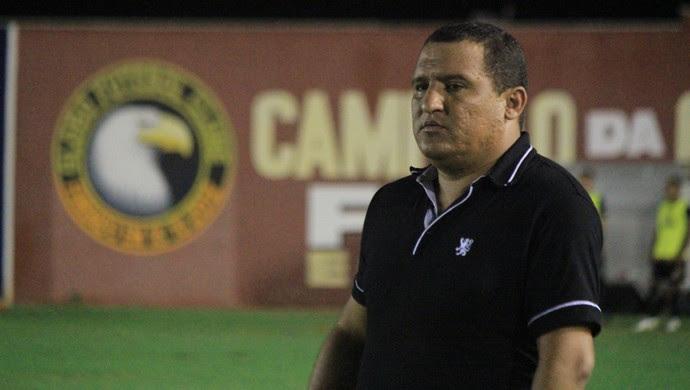 RN - Higor César, técnico do Globo FC (Foto: Diego Simonetti/Blog do Major)