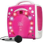 Singing Machine SML283P Portable Karaoke - Pink