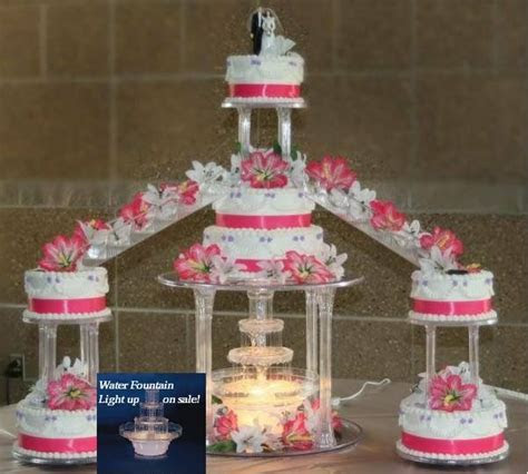 quinceanera cakes fountains stairs wedding staircase