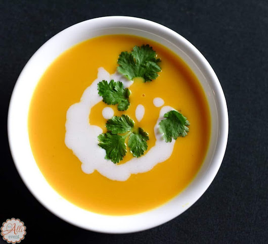 How to Make Delicious Sweet Potato Soup - An Alli Event