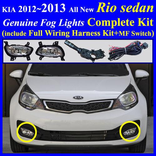 2015 kia sedona fog light wiring harness kit jeep cherokee fog light wiring harness 2012~2015 kia all new rio sedan fog light complete kit ...