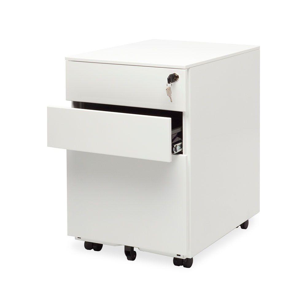 Small Lockable Filing Cabinet - Wood vs Metal