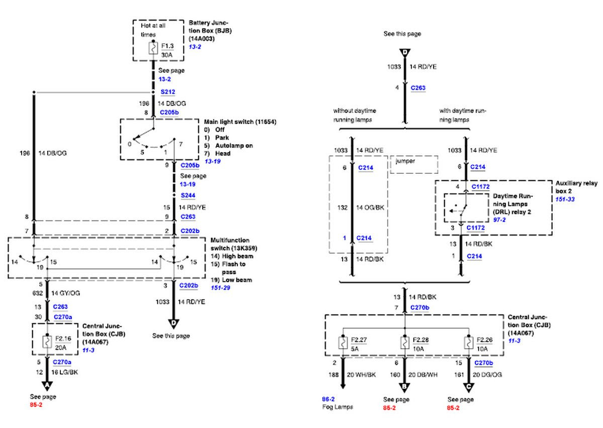 2001 F 350 Tail Light Wiring Diagram - Wiring Diagram