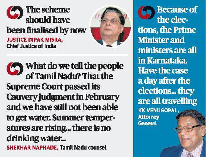 PM busy in Karnataka, need time for Cauvery plan: Centre