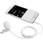 Movo PM10 Deluxe Lav Mic   Smartphone Lavalier Lapel Microphone Bundle White
