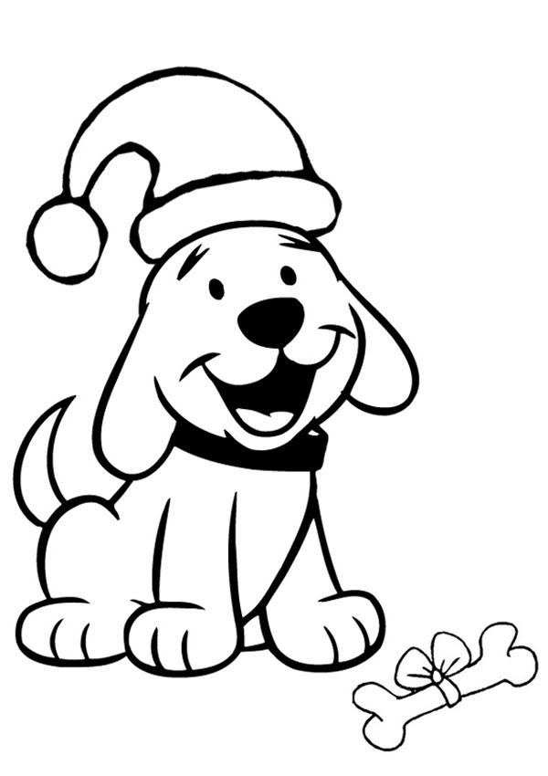 Easy Christmas Coloring Pages For Preschoolers