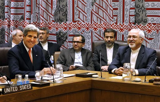 New York John Kerry, Javad Zarif