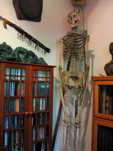 skeletons in the... corner