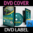 Islamic DVD Cover and Label Template
