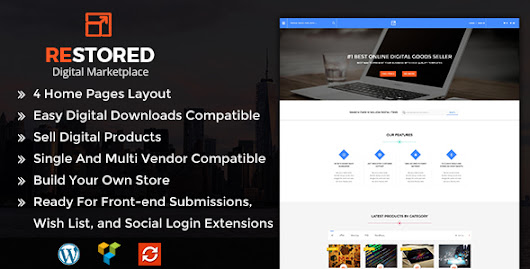 Download Restored MarketPlace - MarketPlace WordPress Theme nulled | OXO-NULLED