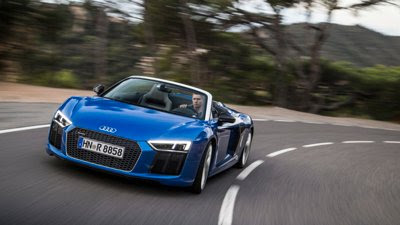 Audi of America drops the top on the all-new 2017 R8 V10 Spyder | Audi USA