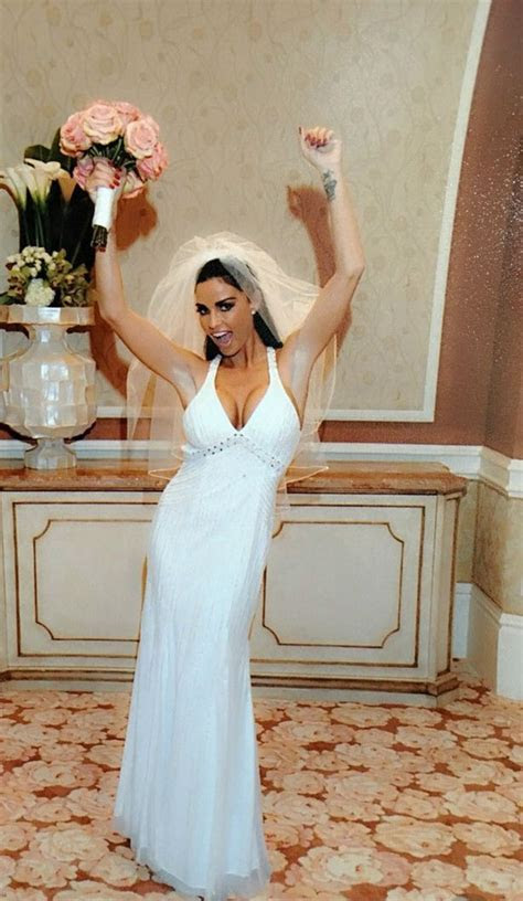 Katie Price is selling her wedding dress on eBay days