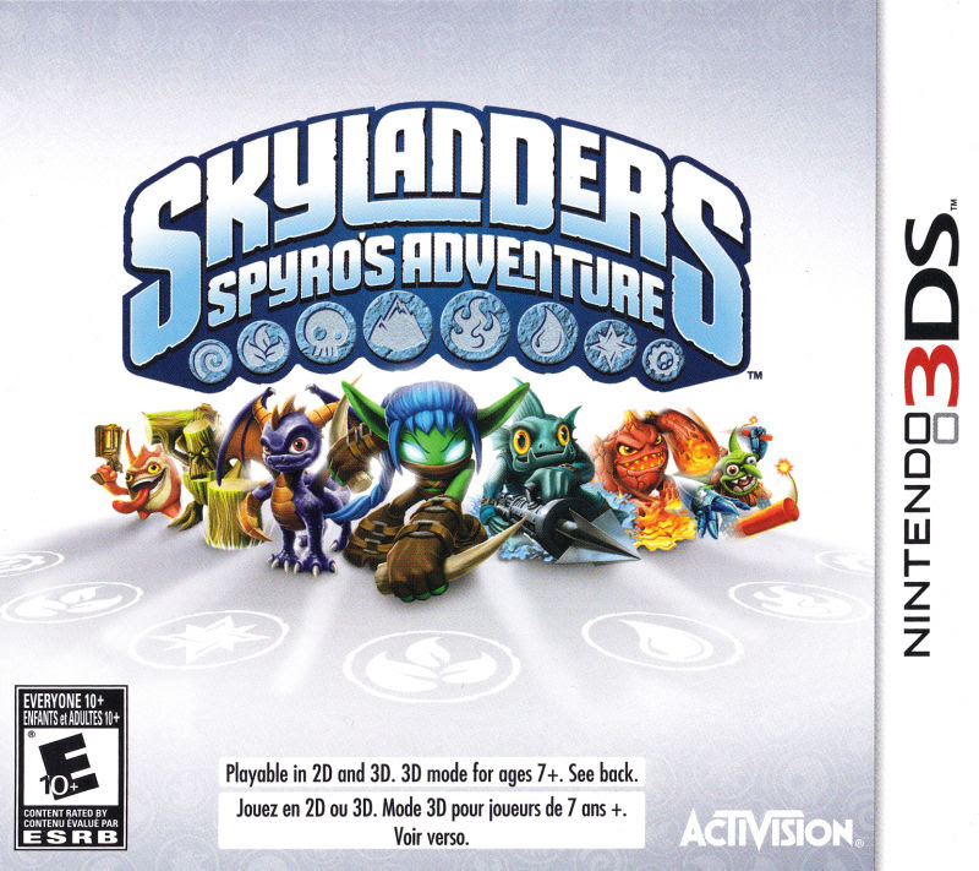 Resultado de imagen para Skylanders - Spyros Adventure 3DS COVER
