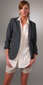 Madewell Cotton Garcon Blazer
