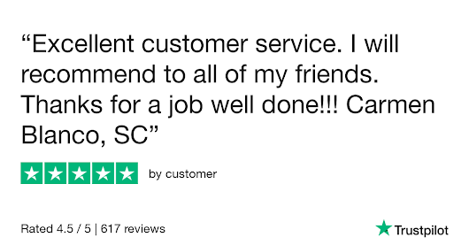customer gave Cheapfaremart 5 stars. Check out the full review...