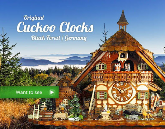 Cuckoo Clocks, original Black Forest Clocks, made in Germany | your-cuckoo-clock.com