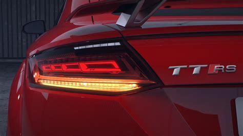 Audi TT RS Matrix OLED Tail Lights   YouTube