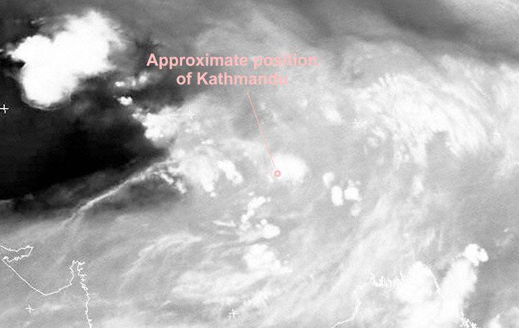 Infrared Satellite Image VISSR Aug 24th 00:00Z (Photo: Meteosat)