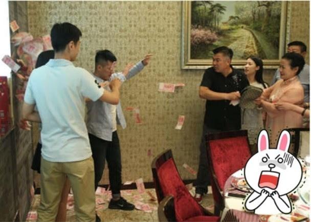 thách cưới, bi hài, Trung Quốc, con rể, bố vợ, đám cưới