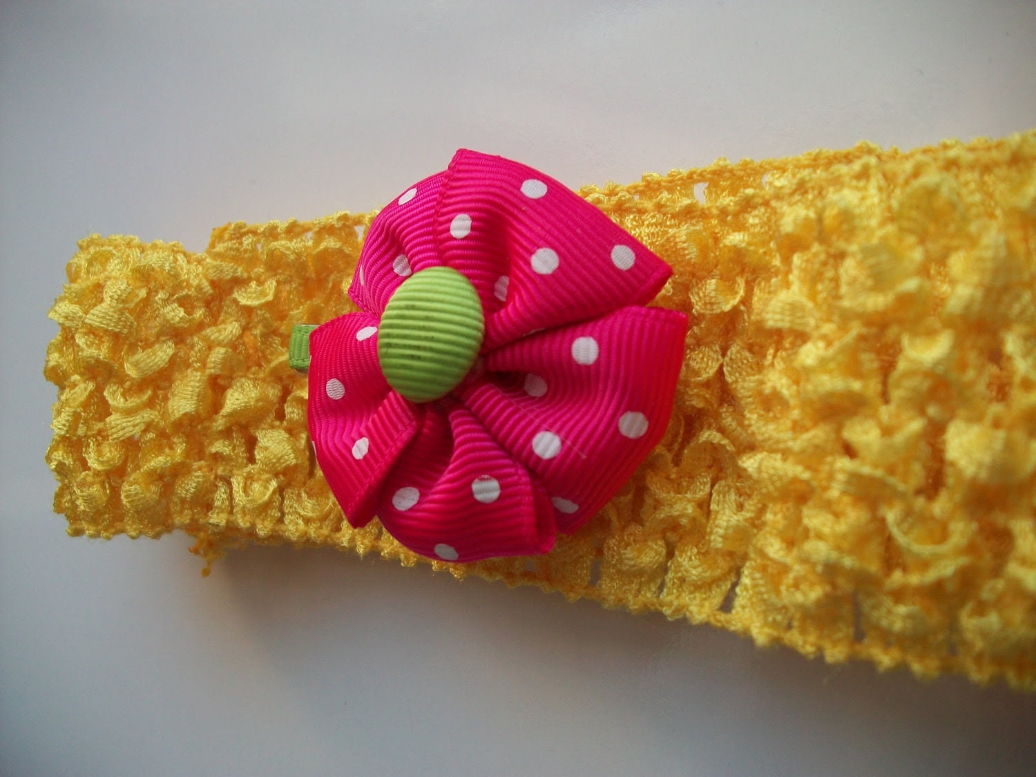 Baby girls headband with flower clip(FREE SHIPPING)