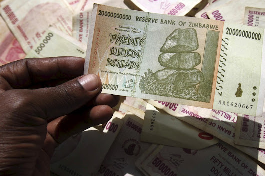 Zimbabwe Ran Out of U.S. Dollars. So, It Will Print It's Own. - The Atlantic
