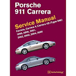 Porsche 911 (Type 996) Service Manual 1999, 2000, 2001, 2002, 2003, 2004, 2005 - by Bentley Publishers