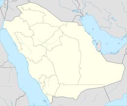 Mappa di localizzazione: Arabia Saudita